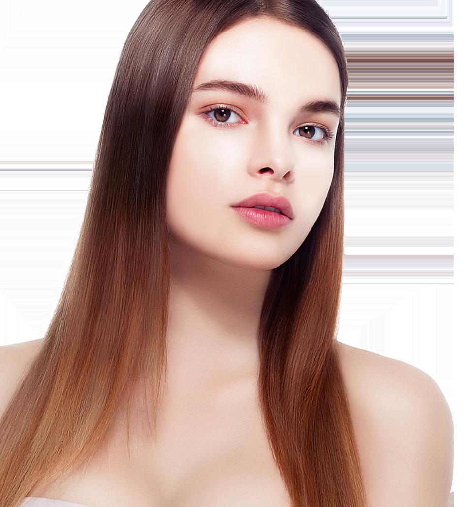 깨끗한피부 모델 이미지